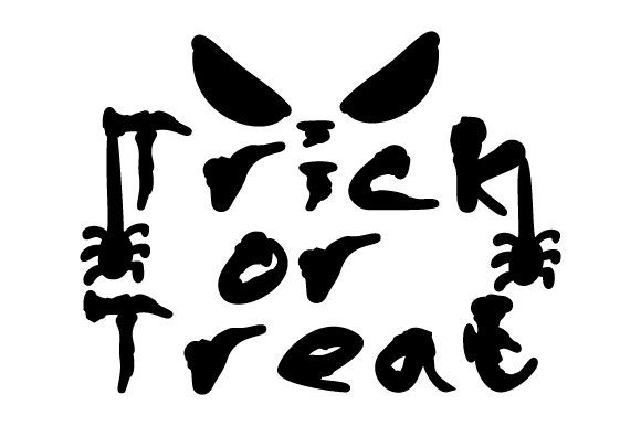 Trick or Treat Halloween Craft Cut File By Creative Fabrica Crafts