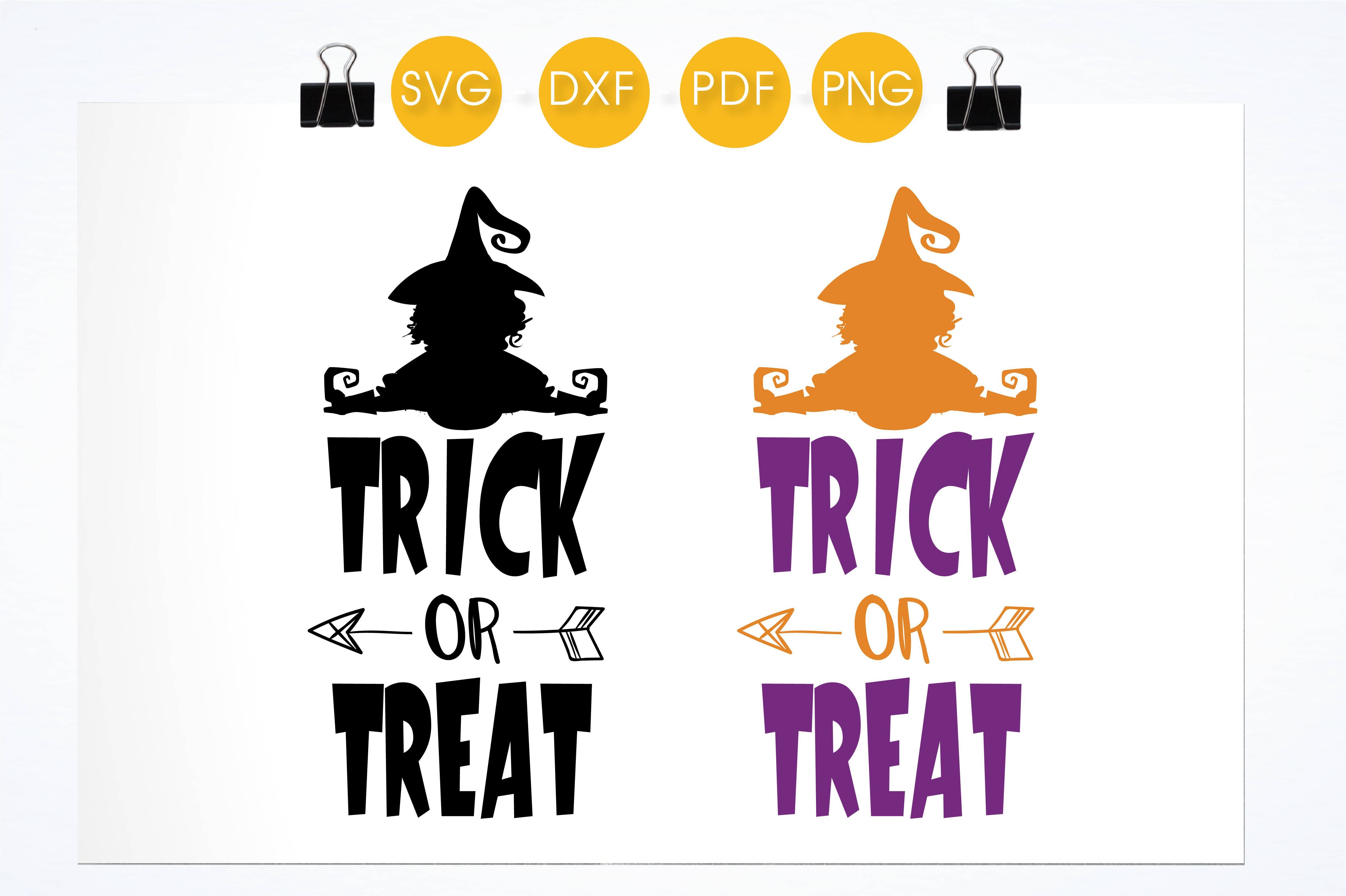 Trick or treat Graphic by PrettyCuttables - Creative Fabrica