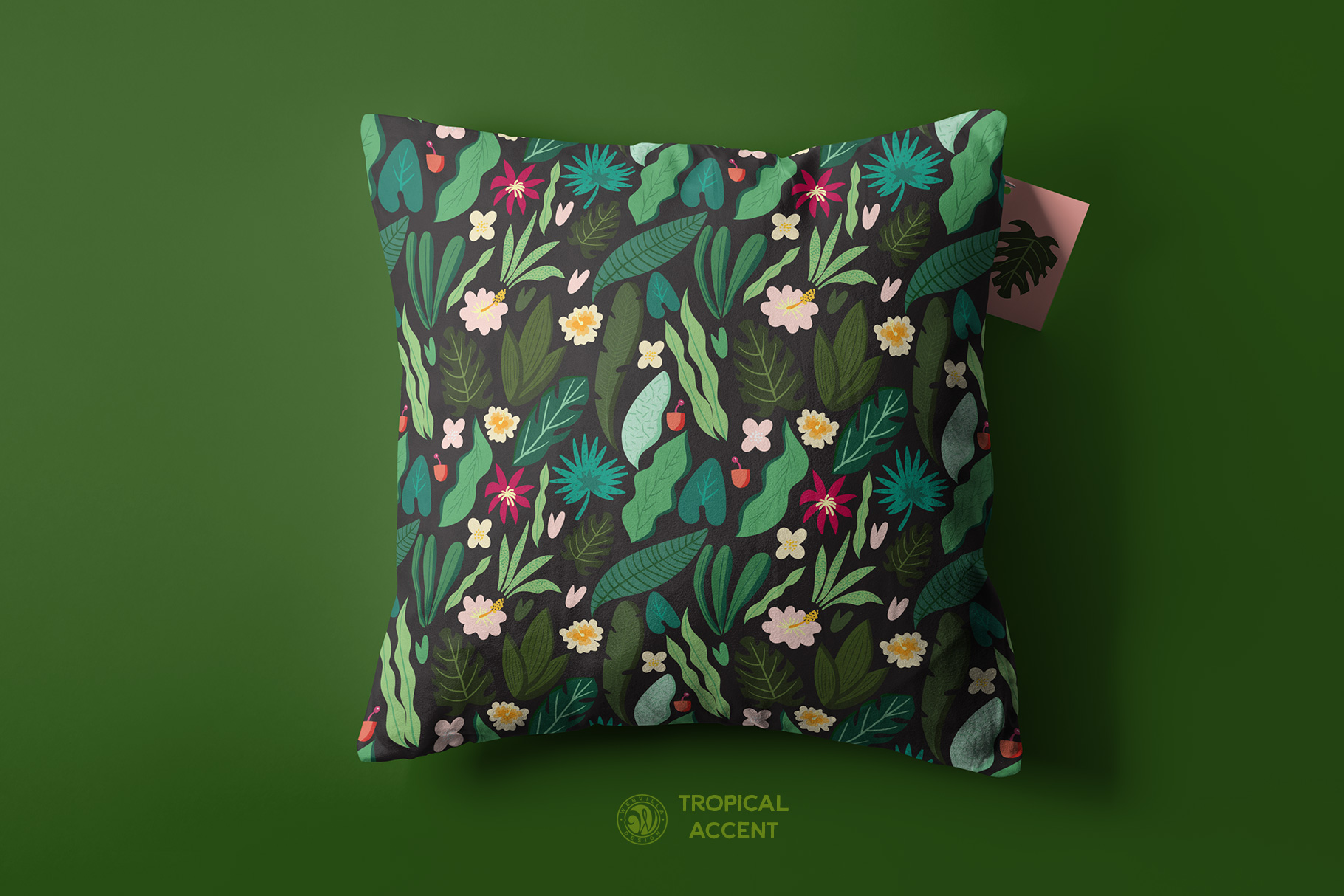 Tropical Accent Graphic Illustrations By webvilla - Image 3
