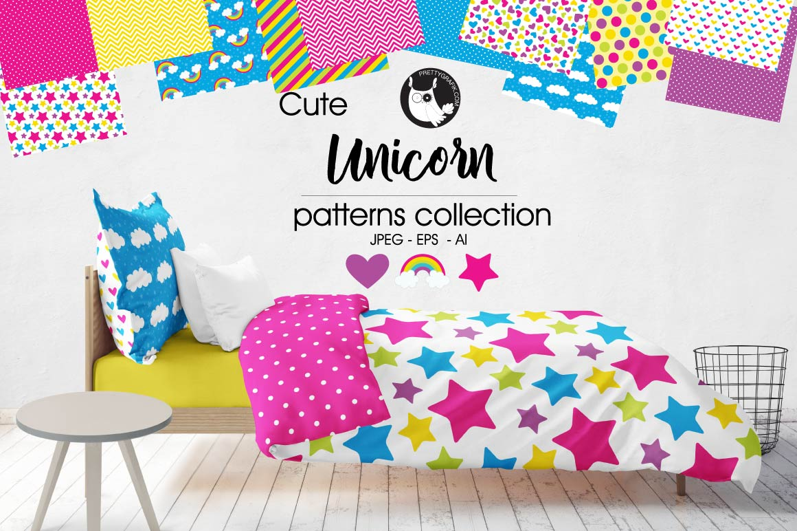 Print on Demand: Unicorn Graphic Patterns By Prettygrafik