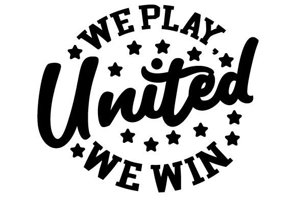 Download Free United We Play United We Win Svg Cut File By Creative Fabrica for Cricut Explore, Silhouette and other cutting machines.