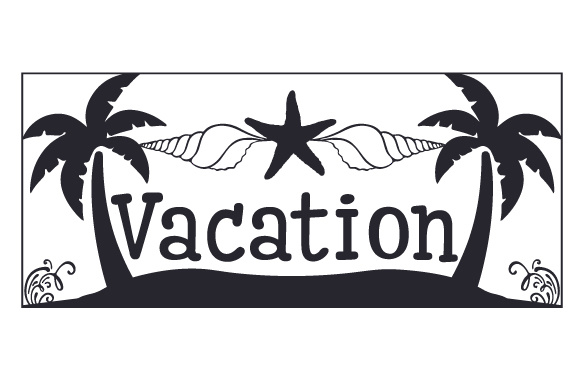 Vacation Planner Craft Cut File By Creative Fabrica Crafts - Image 1