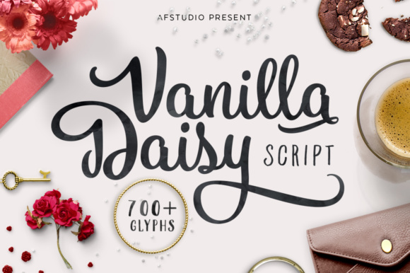 Print on Demand: Vanilla Daisy Script & Handwritten Font By Adam Fathony - Image 1