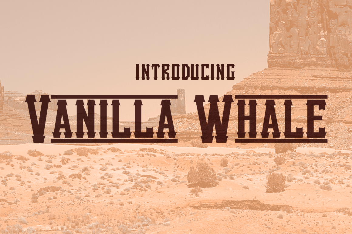 Download Free Vanilla Whale Font By Typodermic Creative Fabrica for Cricut Explore, Silhouette and other cutting machines.