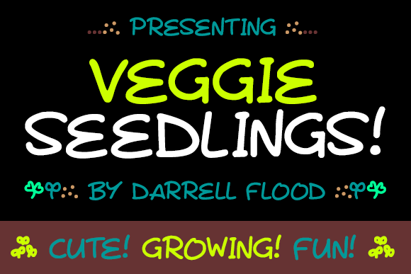 Print on Demand: Veggie Seedlings Script & Handwritten Font By Dadiomouse