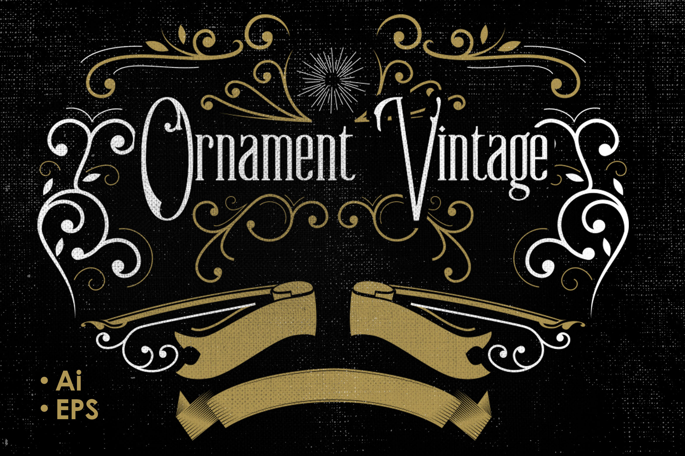 Vintage Vector Ornaments Graphic Objects By storictype