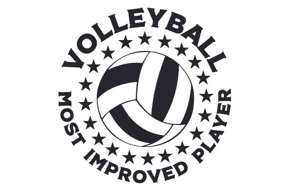 Download Free Volleyball Most Improved Player Svg Cut File By Creative Fabrica for Cricut Explore, Silhouette and other cutting machines.