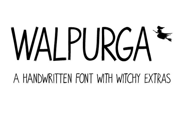 Print on Demand: Walpurga Display Font By juliabausenhardt