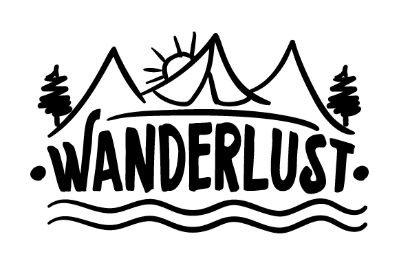 Wanderlust Travel Craft Cut File By Creative Fabrica Crafts - Image 1