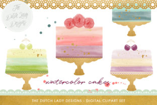 Download Free Watercolor Wedding Cake Clipart Set Ink Splatter Overlays for Cricut Explore, Silhouette and other cutting machines.