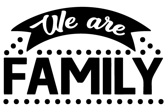 Download Free We Are Family Svg Cut File By Creative Fabrica Crafts Creative for Cricut Explore, Silhouette and other cutting machines.