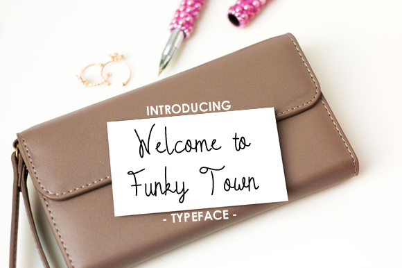 Print on Demand: Welcome to Funky Town Script & Handwritten Font By yh.seaofknowledge