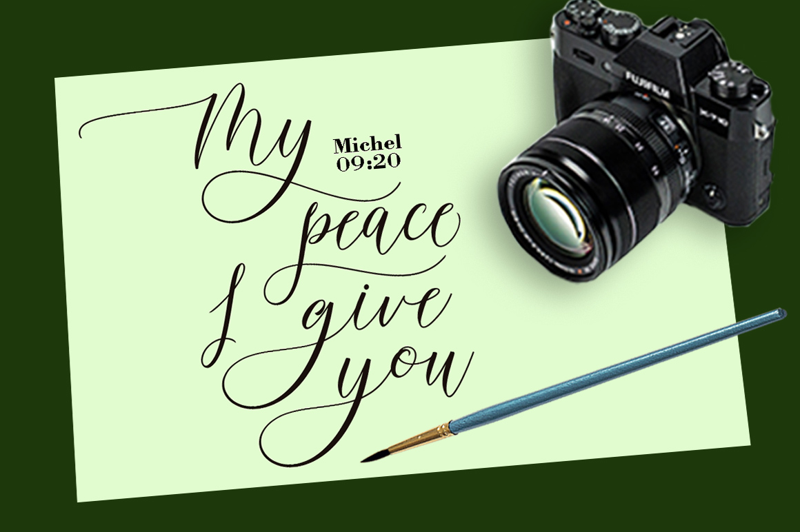 Print on Demand: Wellyfitts Script & Handwritten Font By YanIndesign - Image 7