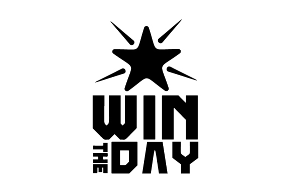 Download Free Win The Day Svg Cut File By Creative Fabrica Crafts Creative for Cricut Explore, Silhouette and other cutting machines.