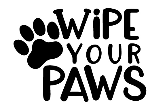Wipe Your Paws Craft Design By Creative Fabrica Crafts Image 2