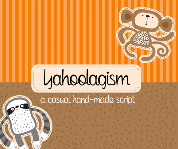 Print on Demand: Yahoolagism Script & Handwritten Font By Illustration Ink