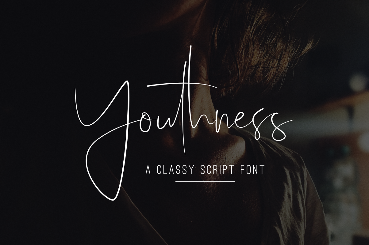 Print on Demand: Youthness Script & Handwritten Font By dharmas