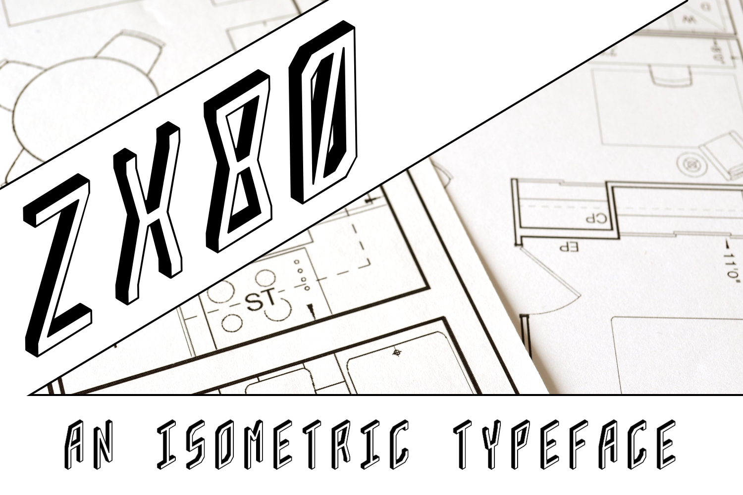 ZX80 Display Font By thorchristopherarisland