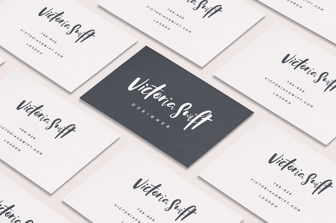 Print on Demand: Zeitgeist Script & Handwritten Font By Hindia Studio - Image 5