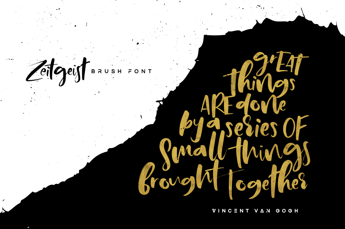 Print on Demand: Zeitgeist Script & Handwritten Font By Hindia Studio - Image 6