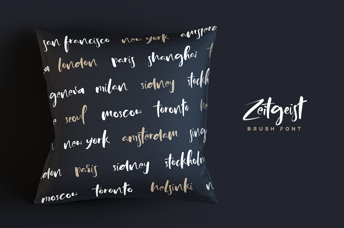 Print on Demand: Zeitgeist Script & Handwritten Font By Hindia Studio - Image 8
