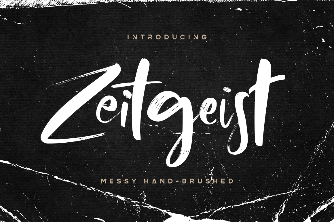 Print on Demand: Zeitgeist Script & Handwritten Font By Hindia Studio