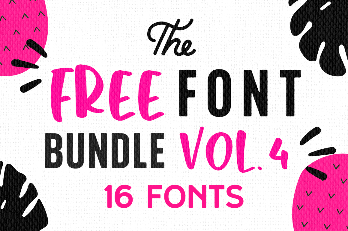 Download Free Free Font Bundle Vol 4 Bundle Creative Fabrica for Cricut Explore, Silhouette and other cutting machines.