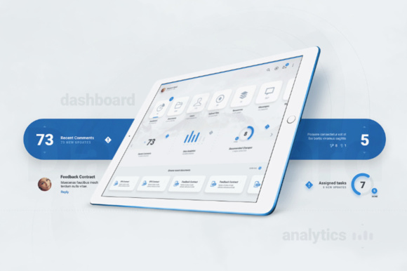Liquid Pro UI Kit Graphic UX and UI Kits By Creative Fabrica Freebies - Image 7
