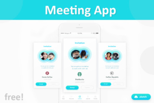 Free Meeting App Graphic By Creative Fabrica Freebies