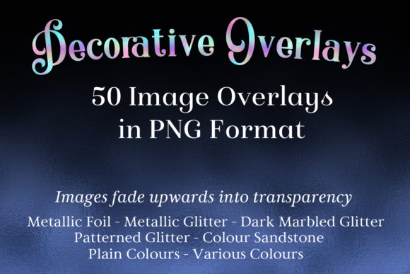 Decorative Overlays - 50 PNG Image Overlays Graphic By SapphireXDesigns