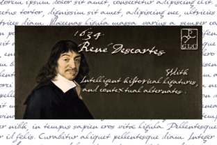 1634 Rene Descartes Font By GLC Foundry
