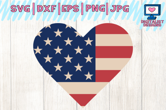 4th of July Svg, America Svg Graphic Crafts By digitalistdesigns