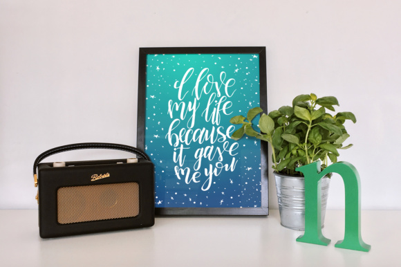 9 Hand Lettering Quotes About Love Graphic By tregubova.jul Image 2