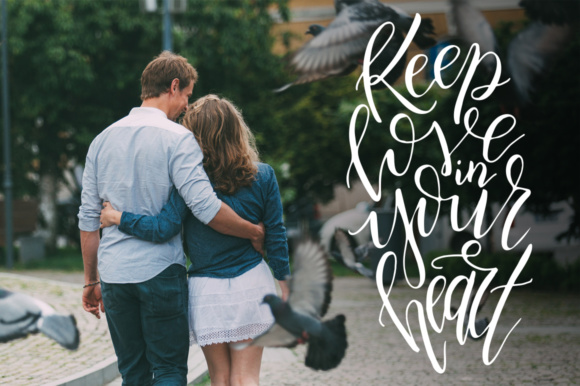 9 Hand Lettering Quotes About Love Graphic By tregubova.jul Image 9