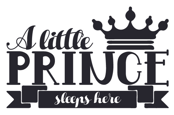 A Little Prince Sleeps Here Bedroom Craft Cut File By Creative Fabrica Crafts - Image 2
