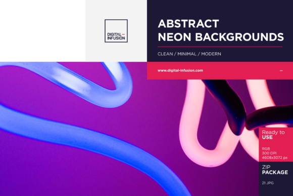 Abstract Neon Texture Bundle Graphic Textures By dumitrasconiu.design