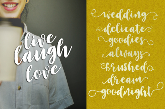 Print on Demand: Adolescent Script & Handwritten Font By Youngtype - Image 4
