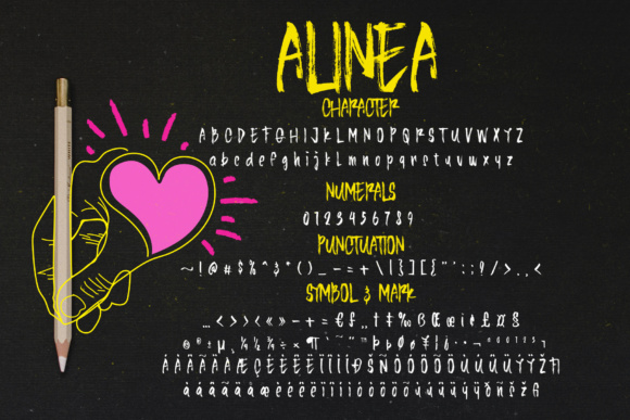 Print on Demand: Alinea Display Font By Ndroadv - Image 4