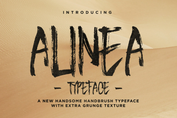Print on Demand: Alinea Display Font By Ndroadv