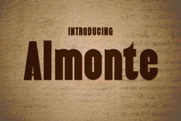 Print on Demand: Almonte Sans Serif Font By Typodermic