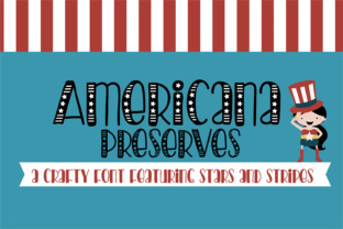 Americana Preserves Script & Handwritten Font By Illustration Ink