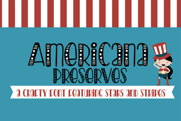 Print on Demand: Americana Preserves Script & Handwritten Font By Illustration Ink - Image 1