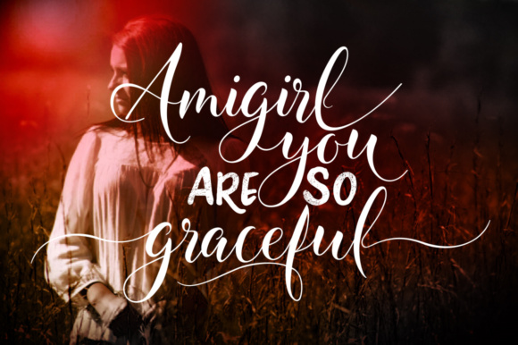 Amigirl (Font) by joelmaker · Creative Fabrica