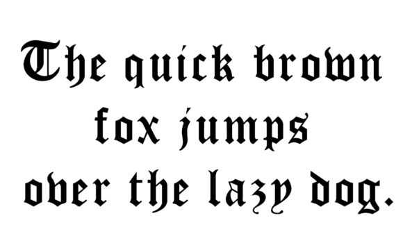 Print on Demand: Anabella Blackletter Font By hamelinckmichael - Image 5