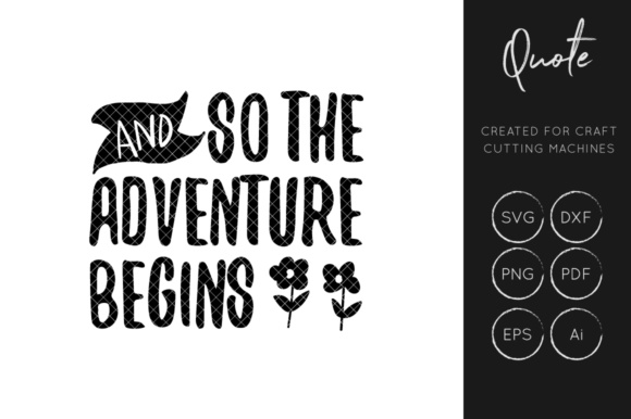 Download Free And So The Adventure Begins Love Svg Cut File Graphic By for Cricut Explore, Silhouette and other cutting machines.