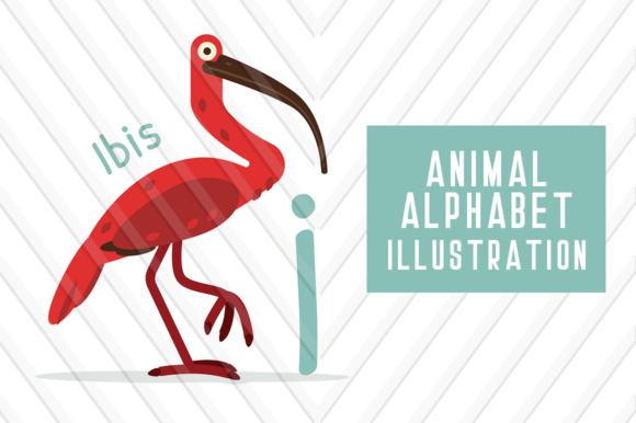 Animal Alphabet I for Ibis Graphic Illustrations By backthemc