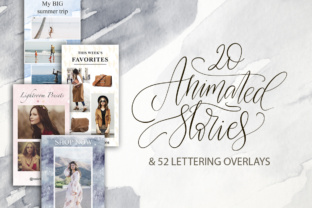 Print on Demand: Animated Stories & Lettering. Graphic Presentation Templates By Red Ink