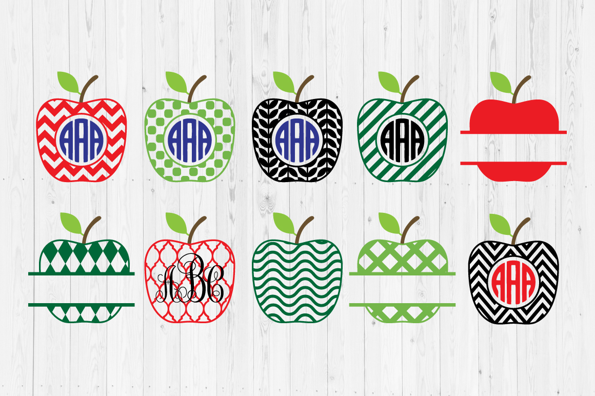 Download Free Apple Cut Files Grafik Von Cutperfectstudio Creative Fabrica for Cricut Explore, Silhouette and other cutting machines.