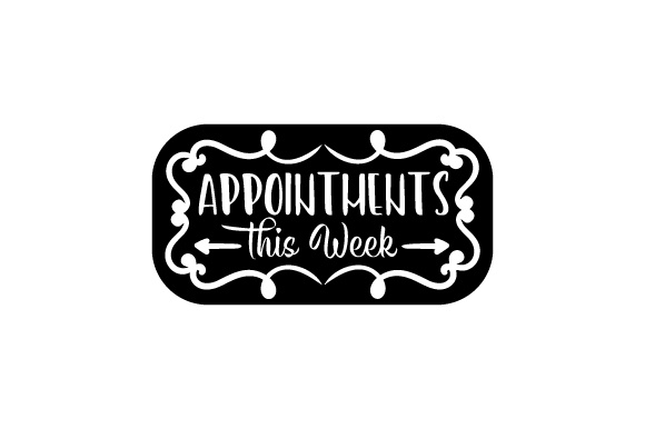 Appointments This Week Planner Craft Cut File By Creative Fabrica Crafts