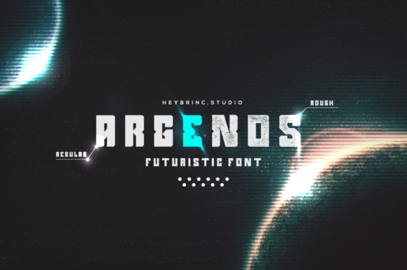 Argenos Display Font By heybrinc.studio